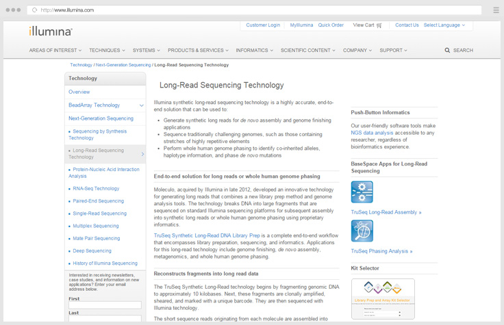 Long-Read Sequencing Technology