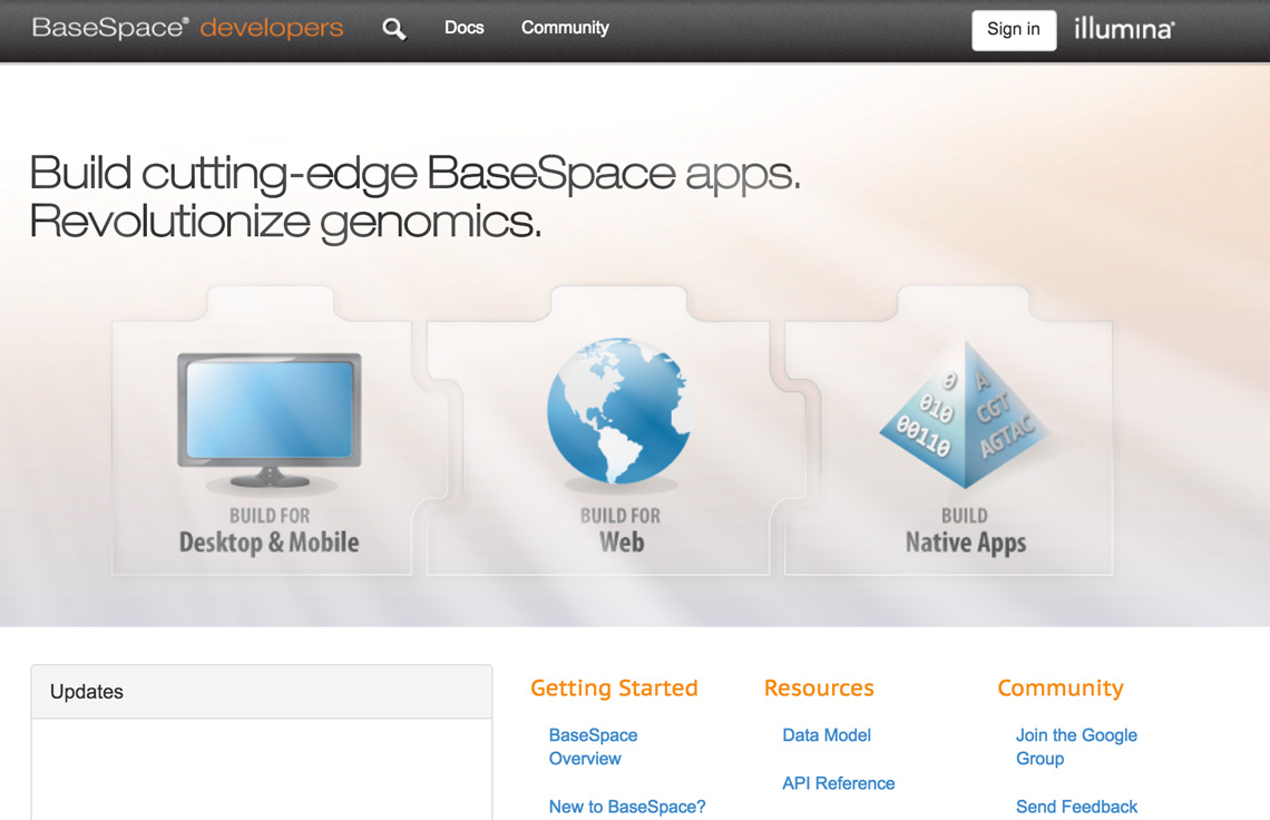 BaseSpace Sequence Hub