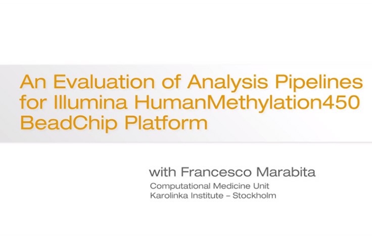 Evaluation of Analysis Pipelines for Illumina HM450 BeadChips